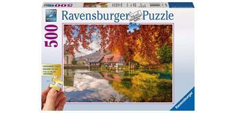 Ravensburger Puzzle 13672 Mühle am Blautopf