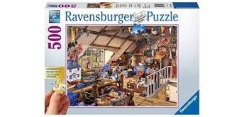 Ravensburger Puzzle 13709 Grossmutters Dachboden