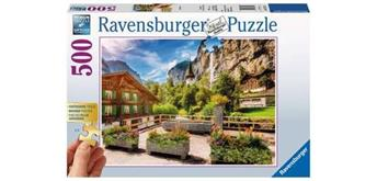 Ravensburger Puzzle 13712 Lauterbrunnen