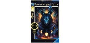 Ravensburger Puzzle 13970 Leuchtender Wolf