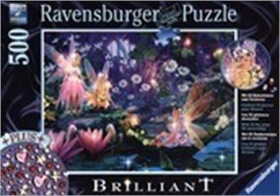 Ravensburger Puzzle 14882 Brilliant. Im Feenwald, 500T.