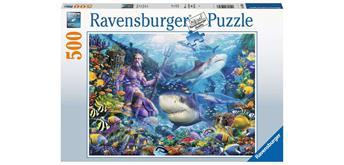 Ravensburger Puzzle 15039 - Herrscher der Meere