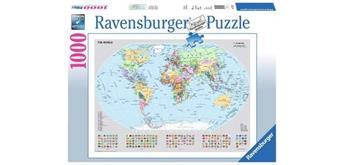 Ravensburger Puzzle 15652 Politische Weltkarte