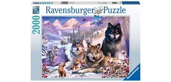 Ravensburger Puzzle 16012 - Wölfe im Schnee