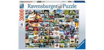 Ravensburger Puzzle 16018 - VW 99 Bulli Moments