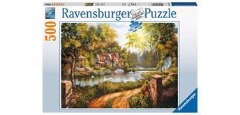 Ravensburger Puzzle 16582 Cottage am Fluss