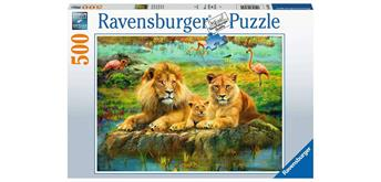 Ravensburger Puzzle 16584 Löwen in der Savanne