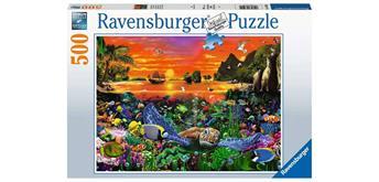 Ravensburger Puzzle 16590 Schildkröte im Riff