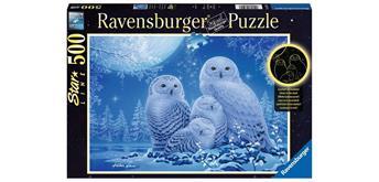 Ravensburger Puzzle 16595 Eulen im Mondschein
