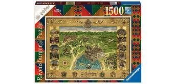 Ravensburger Puzzle 16599 Hogwarts Karte (Harry Potter)