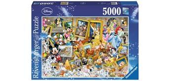 Ravensburger Puzzle 17432 Disney: Mickey als Künstler