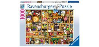 Ravensburger Puzzle 19298 - Kurioses Küchenregal