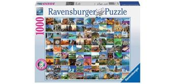 Ravensburger Puzzle 19371 - 99 Beautiful Places on Earth