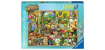 Ravensburger Puzzle 19482 - Grandioses Gartenregal
