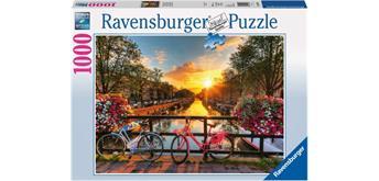 Ravensburger Puzzle 19606 Fahrräder in Amsterdam