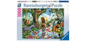 Ravensburger Puzzle 19837 - Abenteuer Dschungel