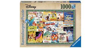 Ravensburger Puzzle 19874 - Disney Vintage Movie