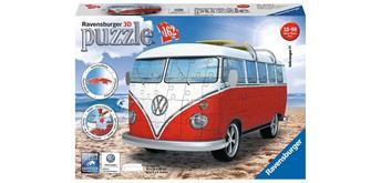 Ravensburger Puzzle 3D 125016 - -VW Bus T1