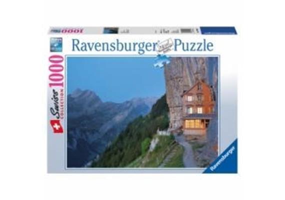 Ravensburger Puzzle 89556 Berggasthaus Aescher