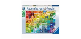Ravensburger Puzzle 99 Beautiful Colors, 1500 Teile, 80x60 cm,