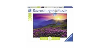 Ravensburger Puzzle Bergwiese Morgenrot, 1000 Teile