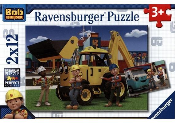 Ravensburger Puzzle Bob der Baumann: Bob und sein Team