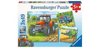 Ravensburger Puzzle Grosse Landmaschinen