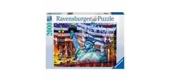 Ravensburger Puzzle New York Collage, 2000 Teile, 98x75 cm,
