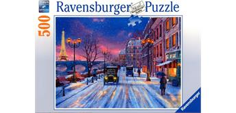Ravensburger Puzzle Winter in Paris