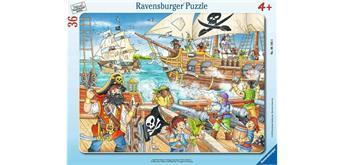 Ravensburger Rahmenpuzzle 06165 - Angriff der Piraten