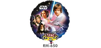 Riesen-Musikballon Ø 74 cm Star Wars Classic