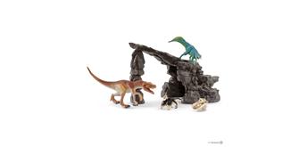 Schleich Dinosaurs 41461 Dinoset mit Höhle