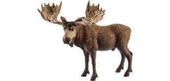 Schleich Wild LIfe 14781 - Elch Bulle