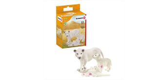 Schleich Wild Life 42505 - Löwenmutter mit Baby
