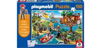 Schmidt Puzzle - Playmobil Baumhaus 150 Teile