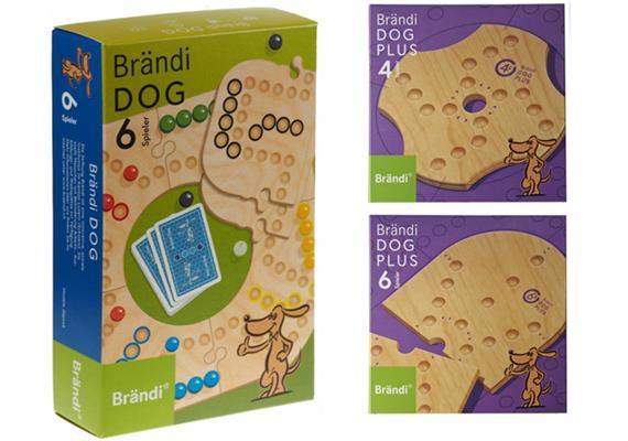 Set Brändi Dog Plus 6-er Set inkl. Plus 4 und 6 er