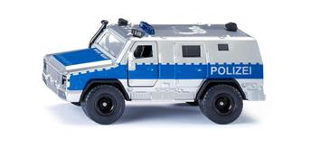 Siku 2304 Rheinmetall MAN Suvivor R Polizei 1:50