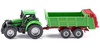 siku Super: 1673 Traktor mit Universalstreuer [1:87]