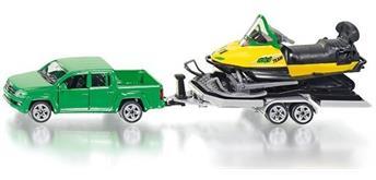 siku Super: 2548 PKW mit Anhänger und Snowmobil [1:55]