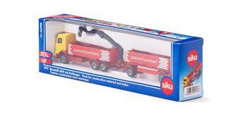 Siku1797 Baustoff LKW mit Anhänger 1:87
