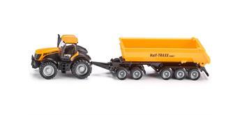 Siku1858 Traktor mit Dolly und Kippmulde 1:87