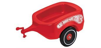 Simba BIG-BOBBY-CAR Anhänger rot, ca. 50 x 29 x 24 cm