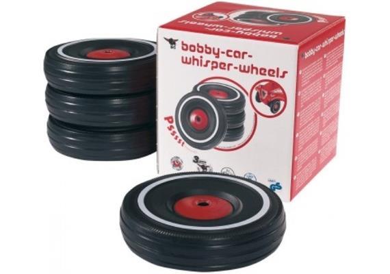 Simba BIG-BOBBY-CAR Set Flüsterreifen