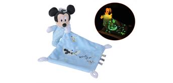 Simba - Disney Mickey GID Schmusetuch, Starry