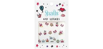 Snails Nagelsticker Prinzessin