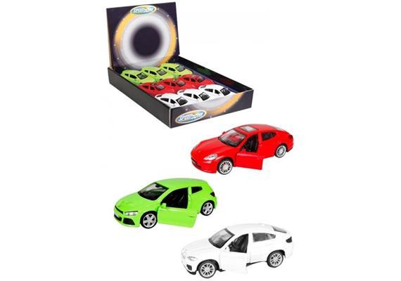 Speed Zone Lizenz-PKW mit Rückzug, 3-fach sortiert