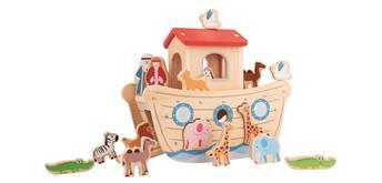 Spielba 550153 Arche Noah mit 14-teiligem Zubehör