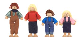 Spielba Bauern Familie