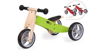 Spielba Lauflernrad 2 in 1 grün