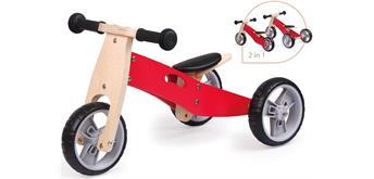 Spielba Lauflernrad 2 in 1 rot